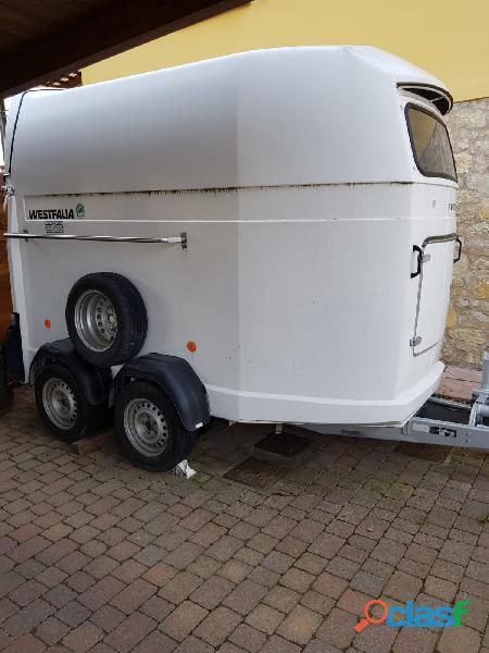 Vendo trailer x trasporto cavalli