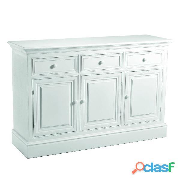 Credenza bianca classica nuova art. 8029470000 consegna gratis arredamentishop.it