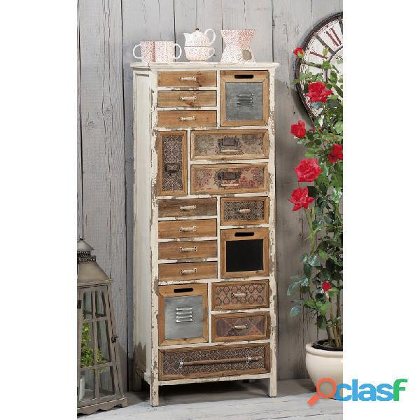 Mobile cassettiera industrial nuova art.45518 consegna gratis arredamentishop.it