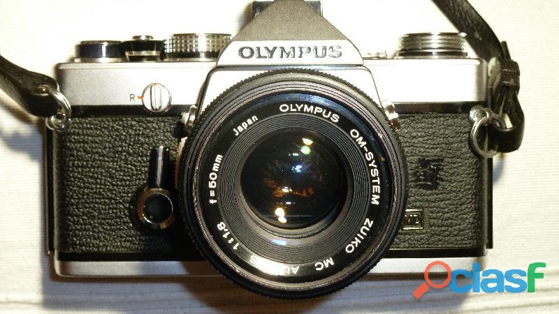 Reflex olimpus om 1n analogica con 4 obbiettivi + omaggi