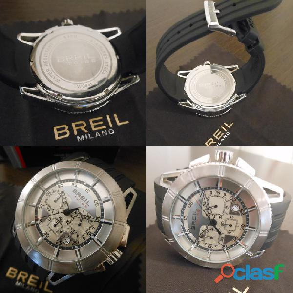 Orologio breil tribe blocks  tw0441 chrono uomo   time module vd53.