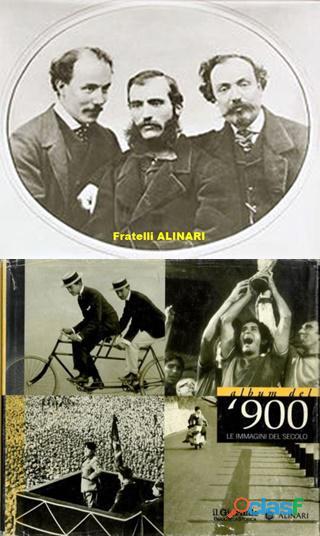 Album del '900 le immagini del secolo, alinari, il giornale biblioteca storica.