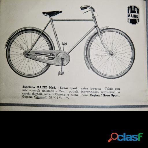 Ricambi originali per bici maino super sport anno 38/39