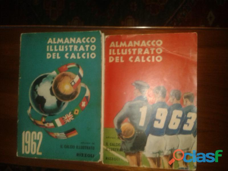 Almanacchi del calcio 1962/1963