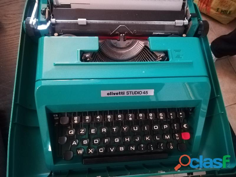 Macchina da scrivere olivetti studio 45 1970