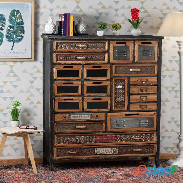 Mobile in legno cassettiera ingresso nuova art.49349 consegna gratis arredamentishop.it