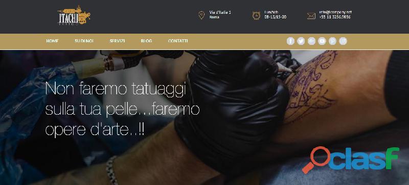 Creazione gratuita siti web