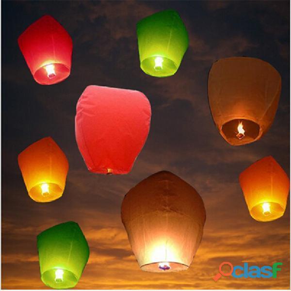 Lanterne volanti per feste ed eventi chinese skylanterns