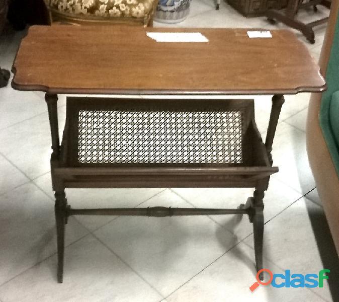 Tavolino portariviste vintage