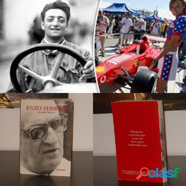Enzo ferrari un eroe italiano, leo turrini, quattroruote le scie prima edizione 2002.