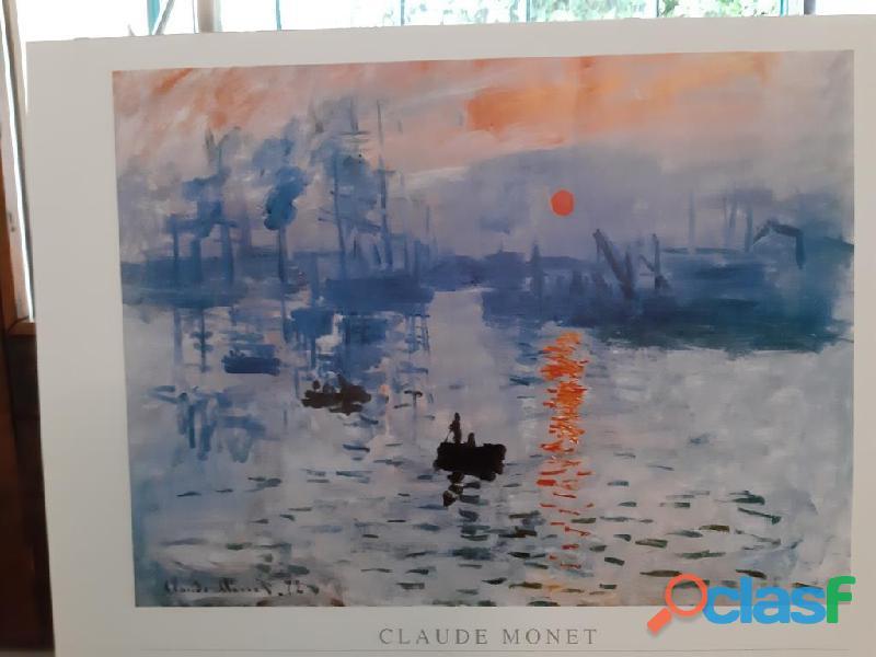 Stampa di Claude Monet Impression soleil levant 1873