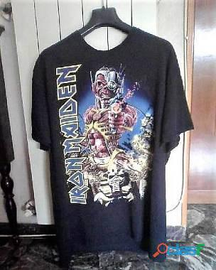 T shirt iron maiden taglia xl