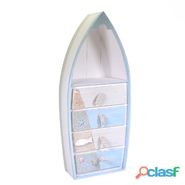 Cassettiera mare legno barca nuova art.5116560000 consegna gratis arredamentishop.it
