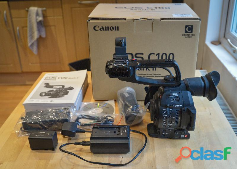 Professionale cinema video canon eos c100 mark ii hd