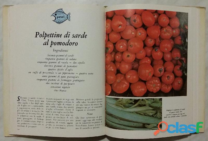 Cucinare con le erbe; Editore: Coged/Rizzoli, 1°Edizione, Settembre 1979 Opera in 3 volumi 8