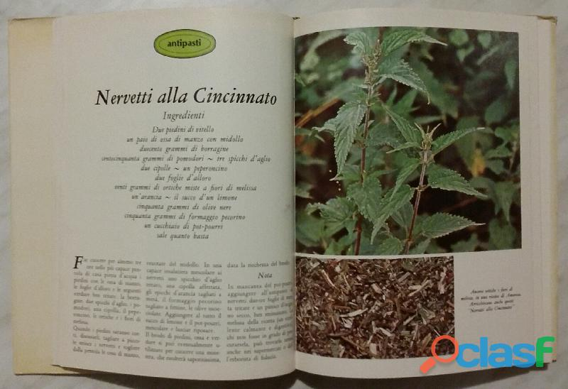 Cucinare con le erbe; Editore: Coged/Rizzoli, 1°Edizione, Settembre 1979 Opera in 3 volumi 6