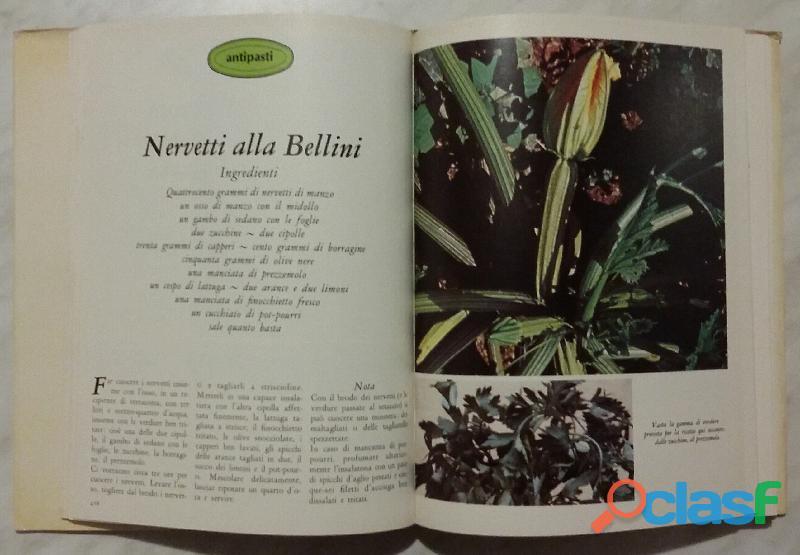 Cucinare con le erbe; Editore: Coged/Rizzoli, 1°Edizione, Settembre 1979 Opera in 3 volumi 5