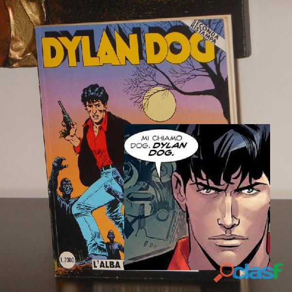 DYLAN DOG n. 1 (SECONDA RISTAMPA), L'ALBA DEI MORTI VIVENTI, GIUGNO 1991.