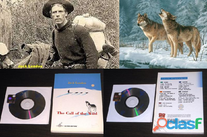The call of the wild, jack london, petrini 2007, ill. a colori in inglese, +cd.