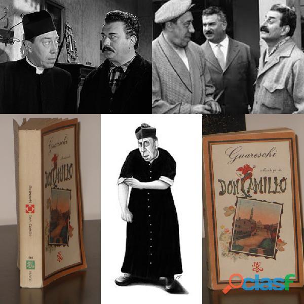 Mondo piccolo Don Camillo, Giovanni Guareschi, 1^ Ediz. BUR 1977, illustrato.