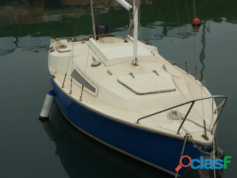 Barca a vela b 18 cabinata