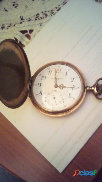 Orologio da taschino vintage caricamento a molla