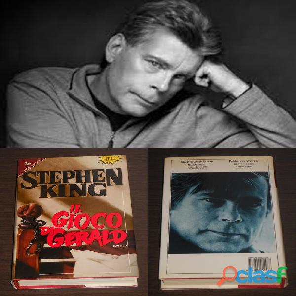 Il gioco di gerald, stephen king, 1^ ed. sperling & kupfer 1993.