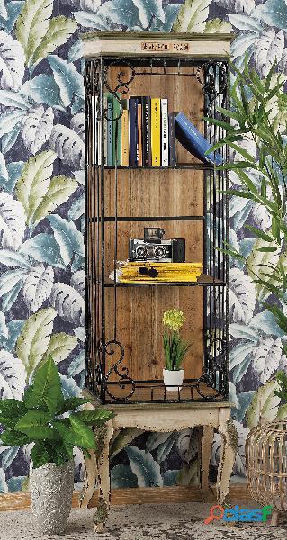 Libreria industrial nuova art.51662 consegna gratis arredamentishop.it