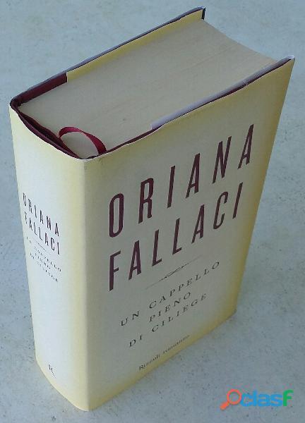 Un cappello pieno di ciliege di oriana fallaci; editore: rizzoli international, 2008 nuovo