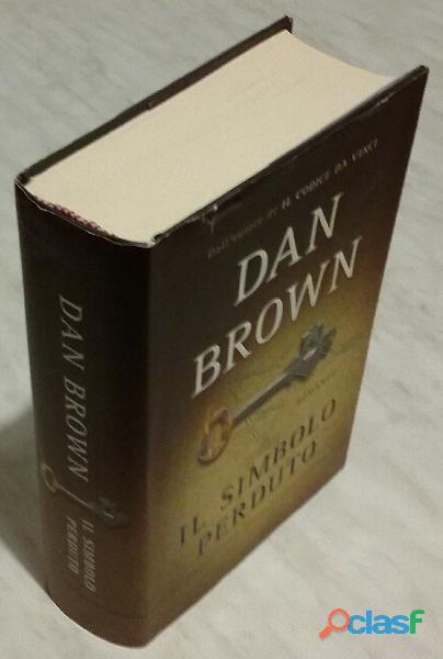 Il simbolo perduto di dan brown; 1°ed.mondadori, 2009 nuovo