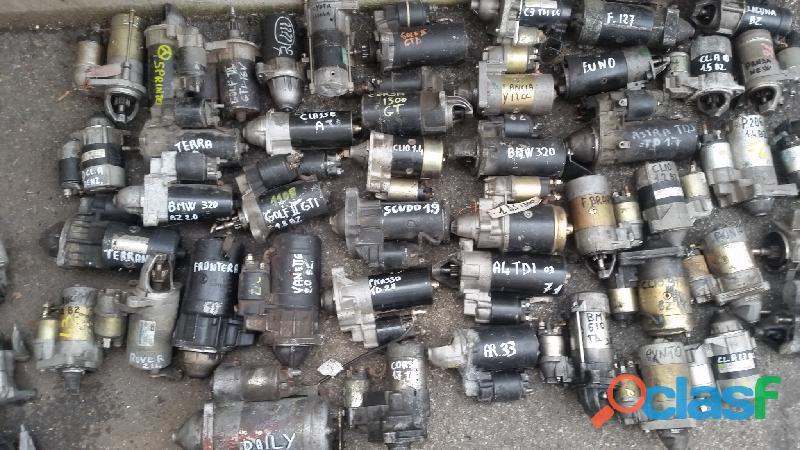 Motorini avviamento/Alternatori/Compressori AC.