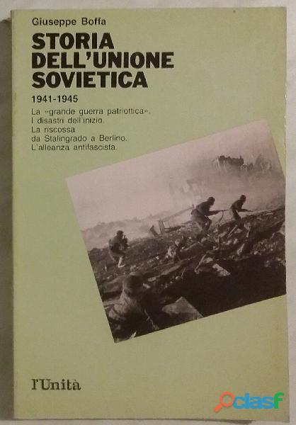 Storia dell'Unione Sovietica   Vol. 3 di Giuseppe Boffa; Ed:L'unita', 1990 nuovo