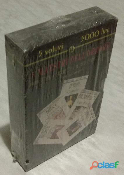 5 maestri dell'orrore. edizione integrale newton compton 1995 nuovo in cofanetto