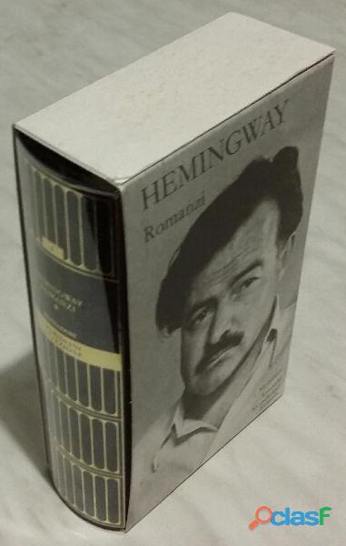 Romanzi. vol.i di ernest hemingway collana: i meridiani editore: mondadori, 1992 nuovo