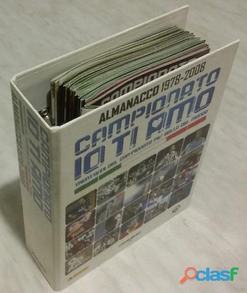 Almanacco 1978 2008 campionato io ti amo ed.panini gazzetta dello sport e rai trade nuovo
