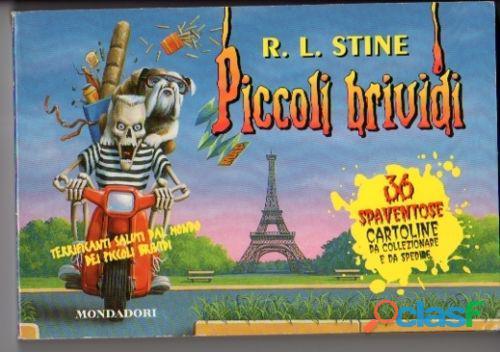 Piccoli brividi: 36 spaventose cartoline da collezzionare e da spedire ed.mondadori,1997 come nuovo