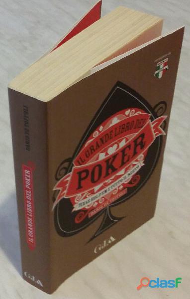 Il grande libro del poker.texas hold'em e tutto il resto dario de toffoli ed.gruner mondadori, nuovo