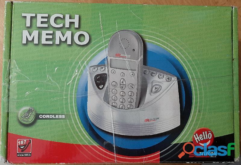 Cordless Tech Memo NUOVO