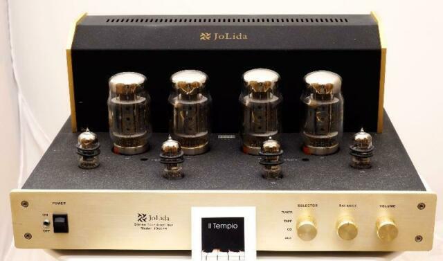 Amplificatore integrato valvolare jolida jd502b