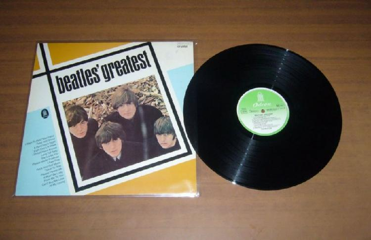 Beatles greatest hits 038 cry 04207 vg ex germany lp 33