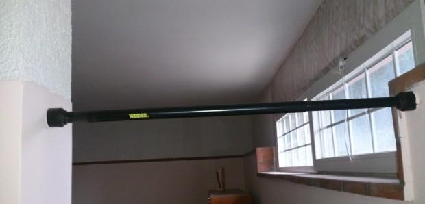 Barra trazioni weider regolabile per porta
