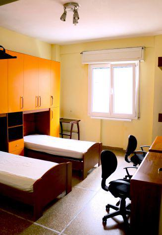 Camera doppia per studentesse o coppie di studenti