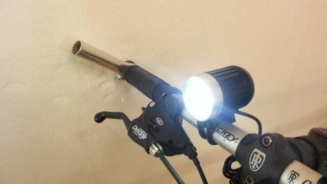 Faro eagletek mtb blk 4000 lumen bici moto cree xml-2
