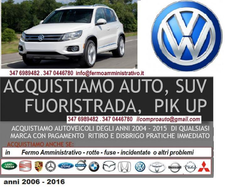 Fuoristrada 4x4 volkswagen in fermo amministrativo