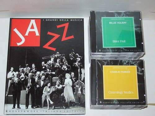 I grandi della musica jazz, 21 cd + libro hobby & works
