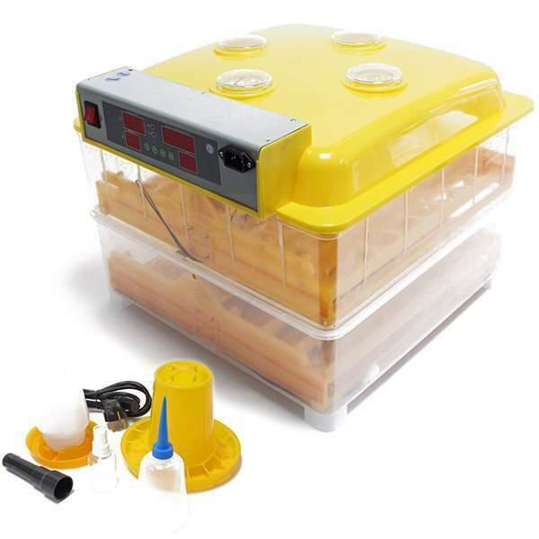 Incubatrice nuova automatica 112 uova gallina + kit nascita