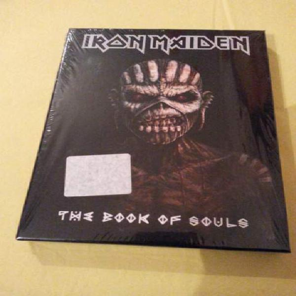 Iron maiden cd the book of the souls edizione limitata nuovo