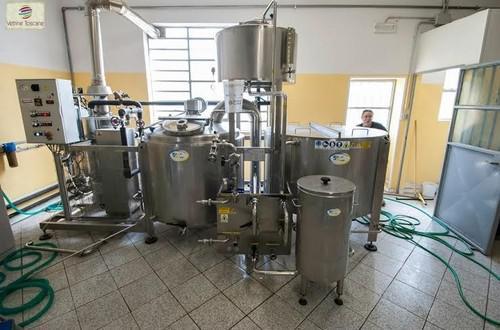 La badia vende il suo impianto di produzione da 10 hl