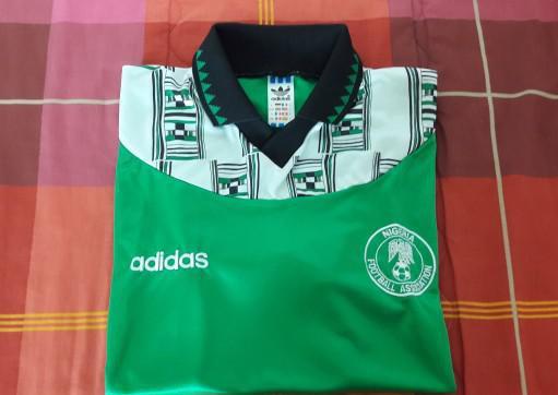 Maglia nazionale nigeria mondiali di calcio usa 94