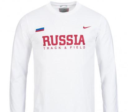 Maglia nazionale atletica russia. rio 2016 - nuova